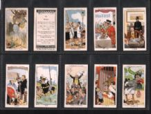 Tobacco cigarette cards Howlers 1937  set